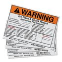 Picture of Brady Arc Flash Labels